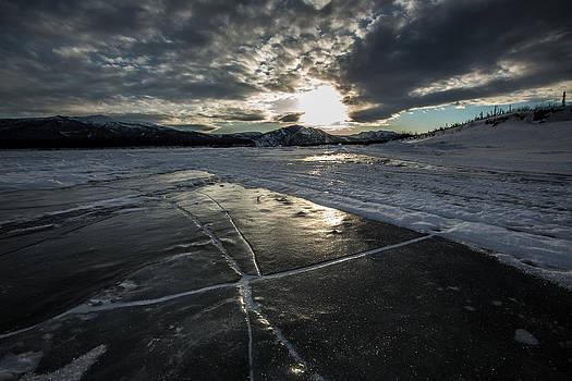 Ice Cracks by Chris Multop