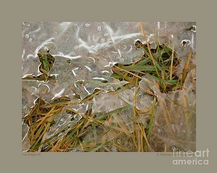 Ice Edges-III by Patricia Overmoyer