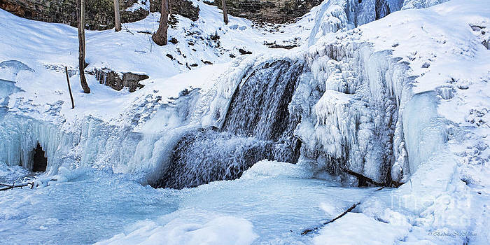 Barbara McMahon - Ice Encased Lower Sherman Falls