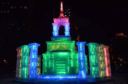 Ice Monument by Brett Geyer