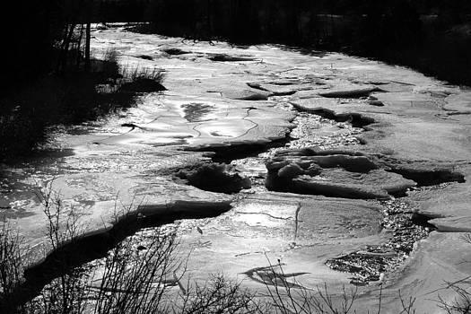 Ice River by Silke Brubaker