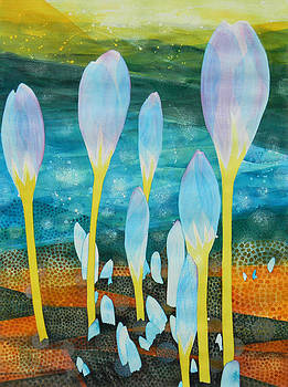 Ice Tulips by Adel Nemeth