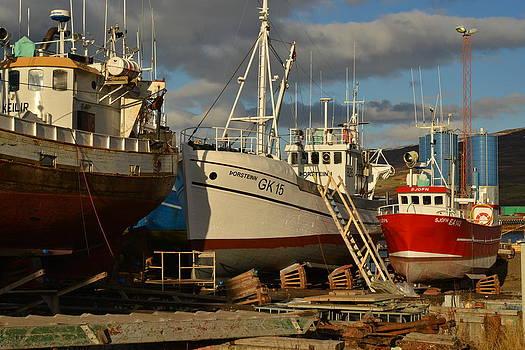 Icelandic boats. by Erlendur Gudmundsson