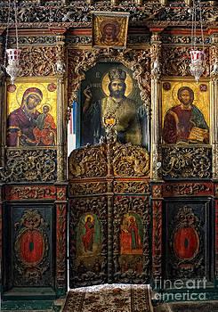 Iconostasis by Mount Athos