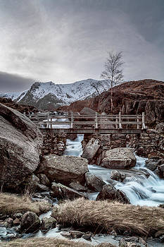 Icy Waters at Rhaeadr Idwal by Christine Smart