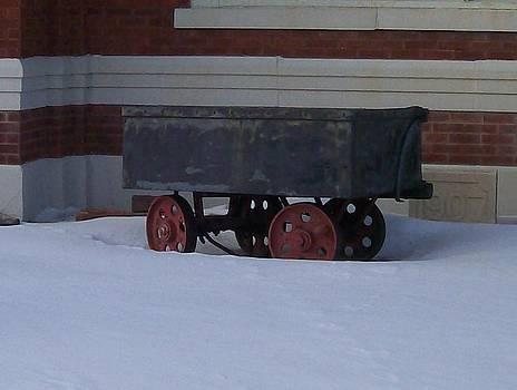 Idle Wagon by Jonathon Hansen