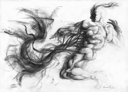 Ignudo 17 Necromancer by Richard Claraval