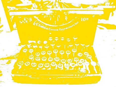 I'll Type You A Love Letter In Gold by Elizabeth Thankful Shannon