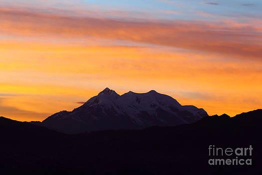 James Brunker - Illimani Sunrise