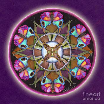Illusion of Self Mandala by Jo Thomas Blaine