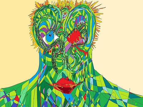 Illustrated Man by Willie Anicic