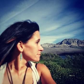 I'm In Love #glaciernationalpark by Sacred  Muse