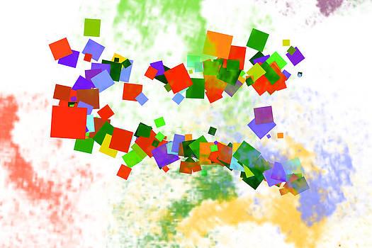 Imaginative Confetti Shapes by Max Kutz