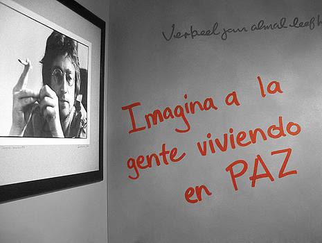 Imagine Lennon Dream by Enrique  Coloma