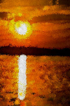 Impressionist Sunset by Bruce Nutting
