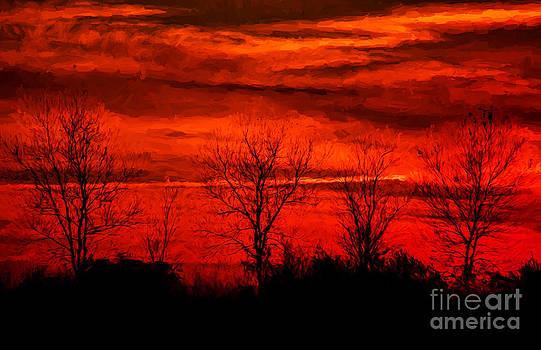 Dave Bosse - Impressionistic Sunset
