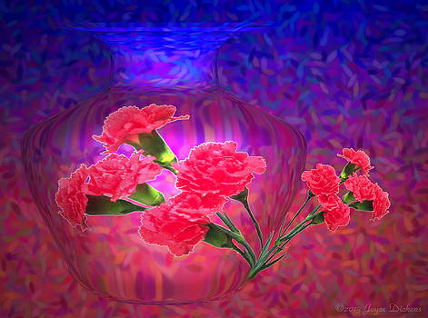 Joyce Dickens - Impressions of Pink Carnations