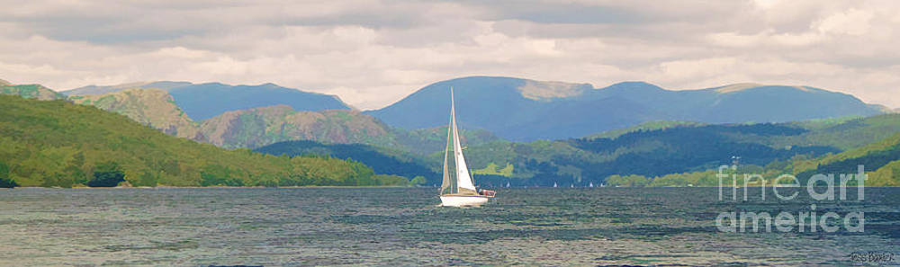 In Sail on Coniston Water by Tess Baxter