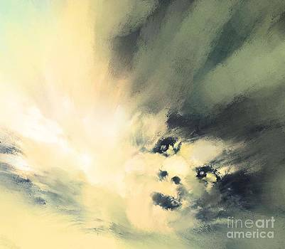 In the clouds by Hilda Lechuga
