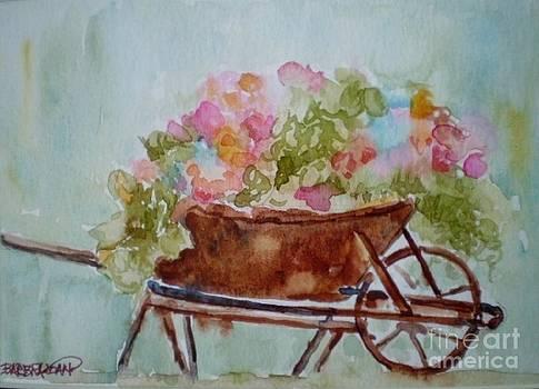 In the Garden by Barbra Joan