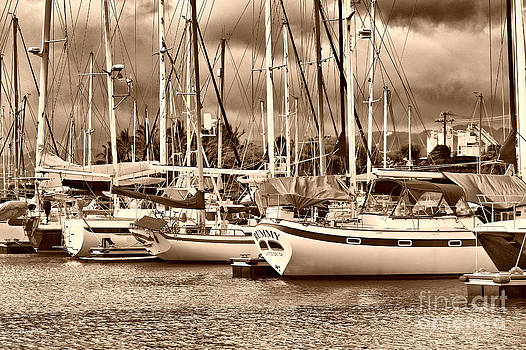 Cheryl Young - In the Harbor sepia