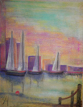 In the Harbor by Shirley Watts