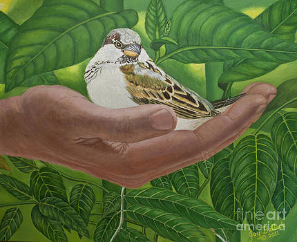 In The Palm Of His Hand by Joy Ballack