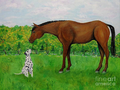 In The Pasture by Jacki McGovern