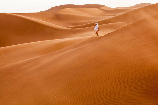 In the sand by Pedro Cano