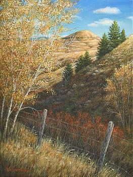 In the Shadow of Belt Butte by Kim Lockman