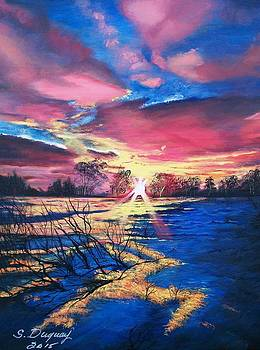 In The Still of Dawn  by Sharon Duguay