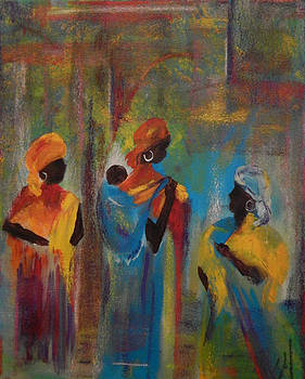 In the Temple by Shirley Watts