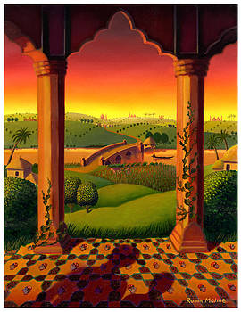 India Landscape by Robin Moline
