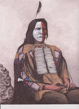 Indian chief RED CLOUD by Billie Bowles