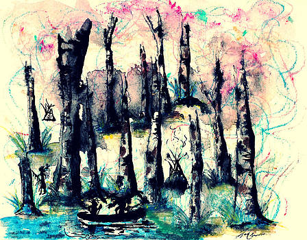 Angela Pari  Dominic Chumroo - Indian in the Woods