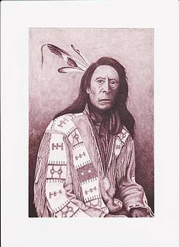 Indian Jack Red Cloud by Billie Bowles
