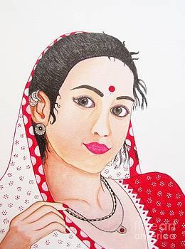 Indian Lady by Priyanka Rastogi