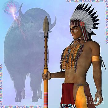 Corey Ford - Indian Standing Buffalo