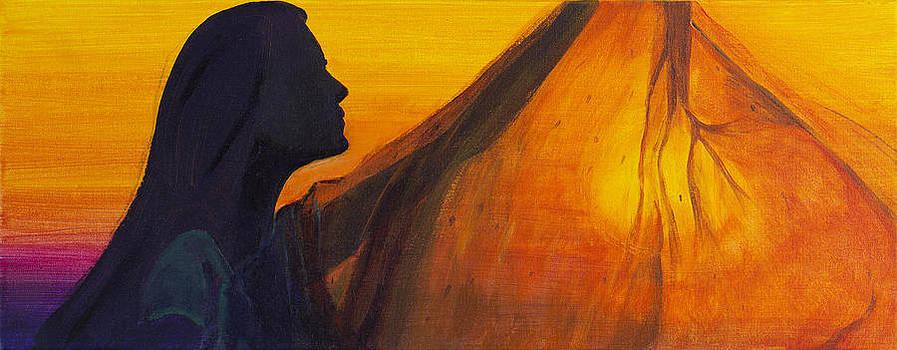 Indian sun by Barbara Klimova