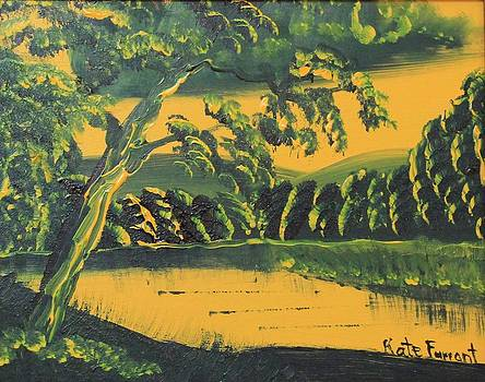 Kate Farrant - Indian yellow landscape