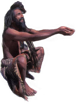 Indian Yogi by Shiva G