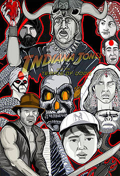 Indiana Jones Temple Of Doom by Gary Niles