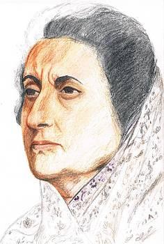 Indiraji by Bindu N