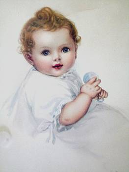 Infant Baby by Henry Goode Gallery
