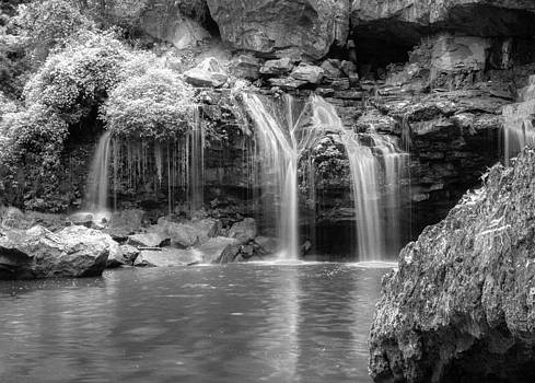 Infrared Waterfalls by Cindy Haggerty