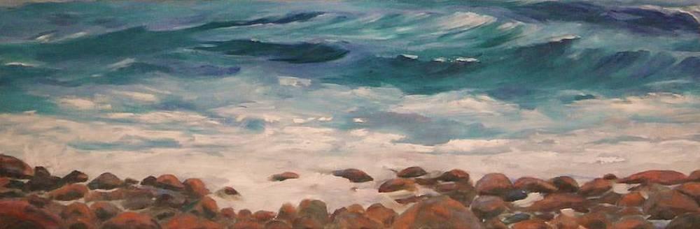 Ingonish Beach Cape Breton by Anne Marie Spears
