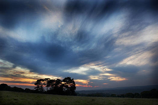 Inky Sunset by Ed Pettitt