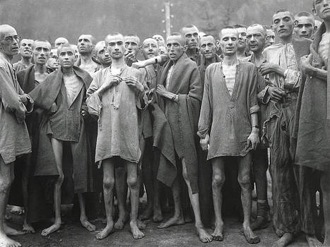 Inmates Of Ebensee Concentration Camp by Everett