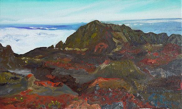 Inside Haleakala by Joseph Demaree