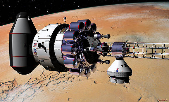 Inspection over Mars by David Robinson